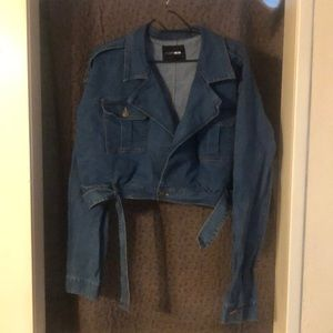 Still Moving On Denim Jacket Vintage Blue Wash 2XL